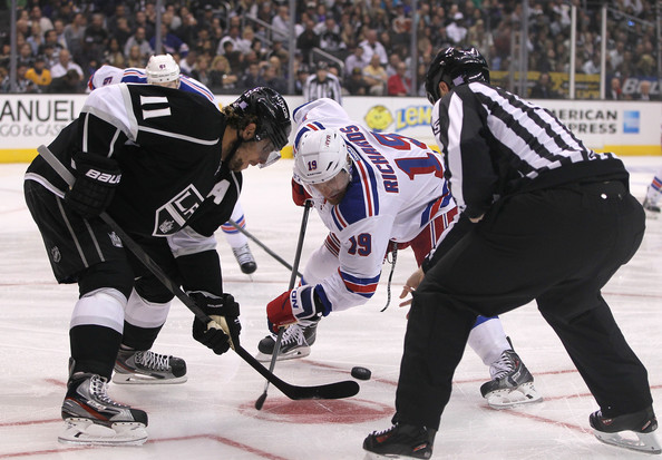 Los Angeles Kings New York Rangers NHL Daily