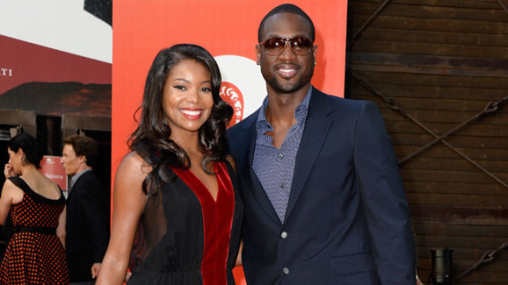 Dwyane Wade and Gabrielle Union Married in a Castle