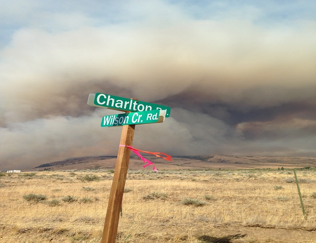 Snag Canyon Fire Tests Firefighters' Strength