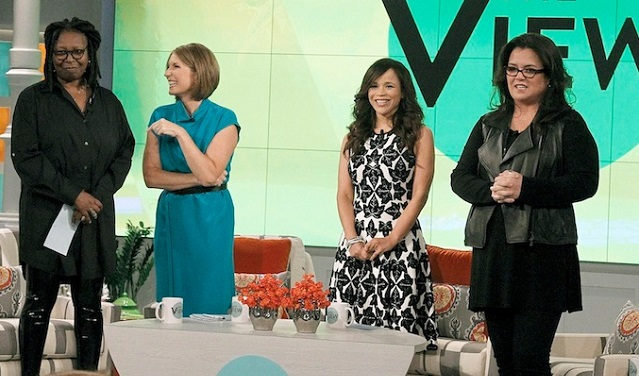 The View Heats Up With Rosie and Whoopi As Tempers Explode