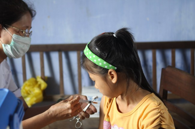 Influenza Vaccination Researchers Debut New Way to Keep Children Healthy