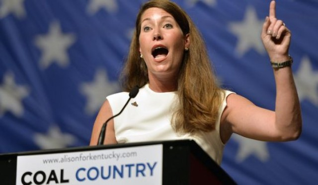 Kentucky Democratic Candidate Alison Grimes Lying About Coal