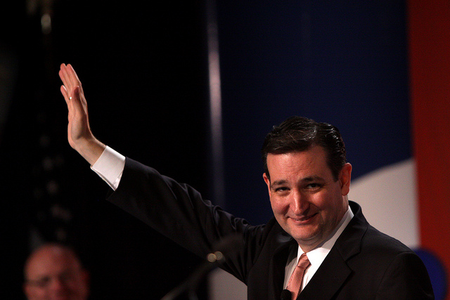 Ted Cruz Officially Begins His Campaign