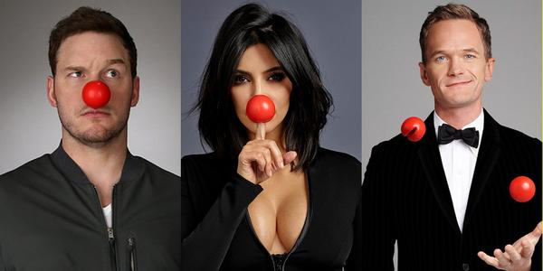 Red Hot Kim Kardashian Touts Fashionable Red Nose