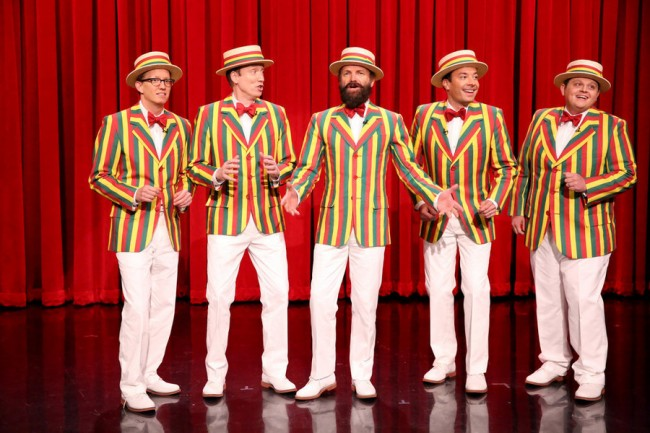 Jimmy Fallon and Sting Sing 'Roxanne' in 'Ragtime Gals' Skit [Video]