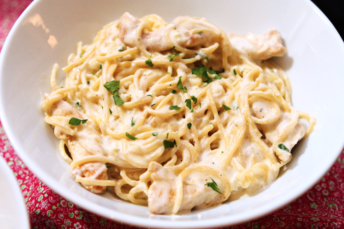 Health-Conscious Food Recipes: Chicken Spaghetti Alfredo Surprise