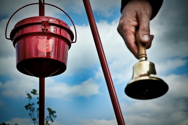 Blind Bell Ringer for Salvation Army Attacked in New York