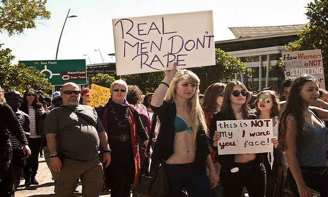 Anti-Feminist Group Campaigns to Legalize Rape