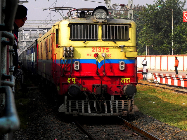 Jharkhand Train at Hazaribagh Station in India Catches Fire