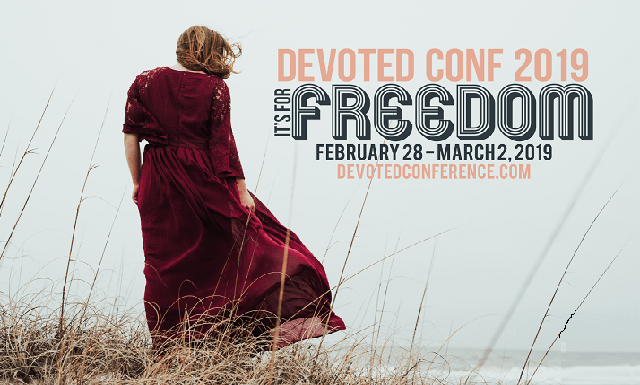 Devoted Conference 2019 'It's For Freedom!'