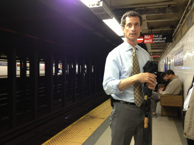 Anthony Weiner Is Now a Registered Sex Offender for Sexting a 15-Year-Old