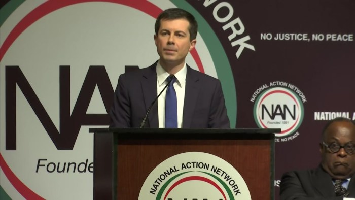 Pete Buttigieg Being Hosted to Lunch in New York by Al Sharpton