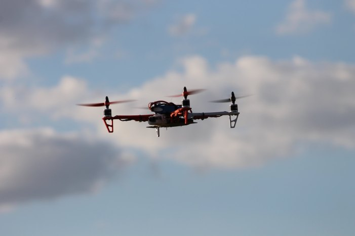 Drone Being Tested to Help During Pandemic [Video]