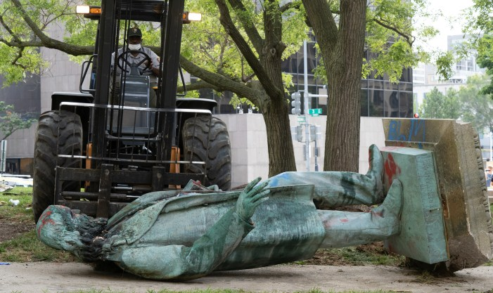 Over 100 Confederate Symbols Removed Since the Death of George Floyd