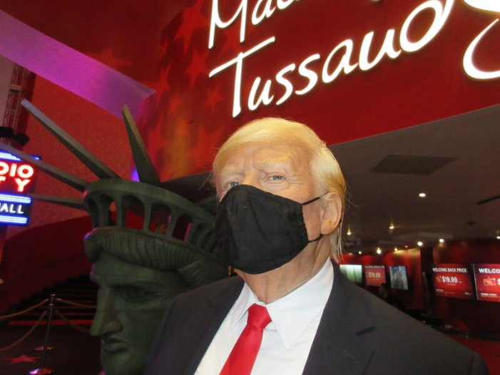 Texas Waxworks Pulls Trump's Figure After Repeated Assaults by Visitors