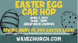 Loads of Easter Eggcitement This Weekend at Wave Church