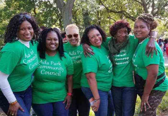Energetic Team Advocates for Ada Park and Their Community