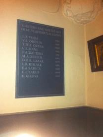 Masters & Mistresses of St Vladimir's