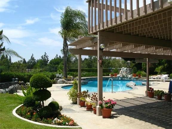 Pool Furniture Ideas on Patio Ideas Around Pool id=14081