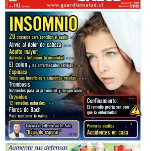 Edición 192 – INSOMNIO: 20 consejos para conciliar el sueño – El Guardián de la Salud Digital