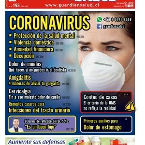 Edición 193 – CORONAVIRUS – El Guardián de la Salud Digital