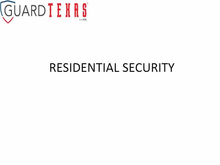 residential-security-training-slideshow