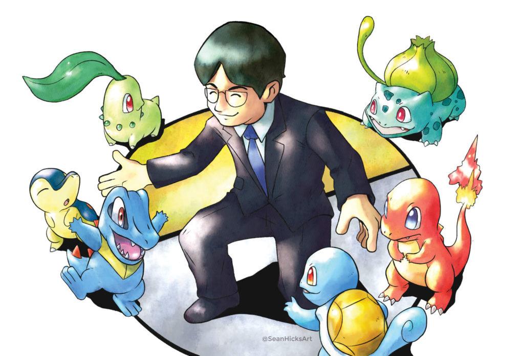 Pokémon Gold e Silver Satoru Iwata Gameboy 01