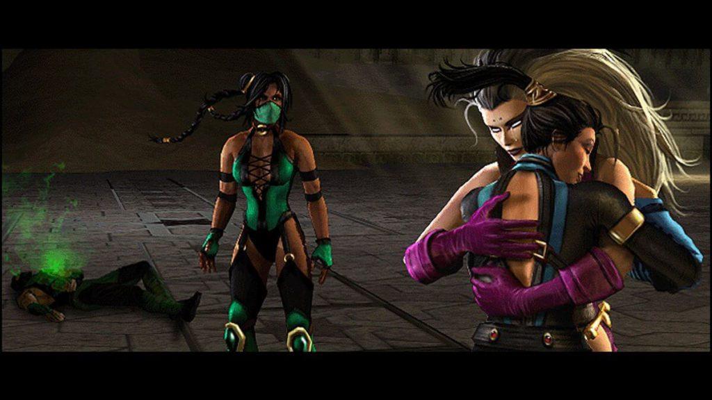 Sindel Kitana Good Mortal Kombat