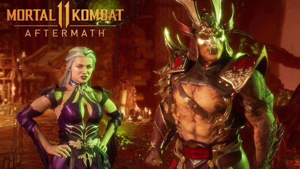 Sindel Shao Kahn Mortal Kombat