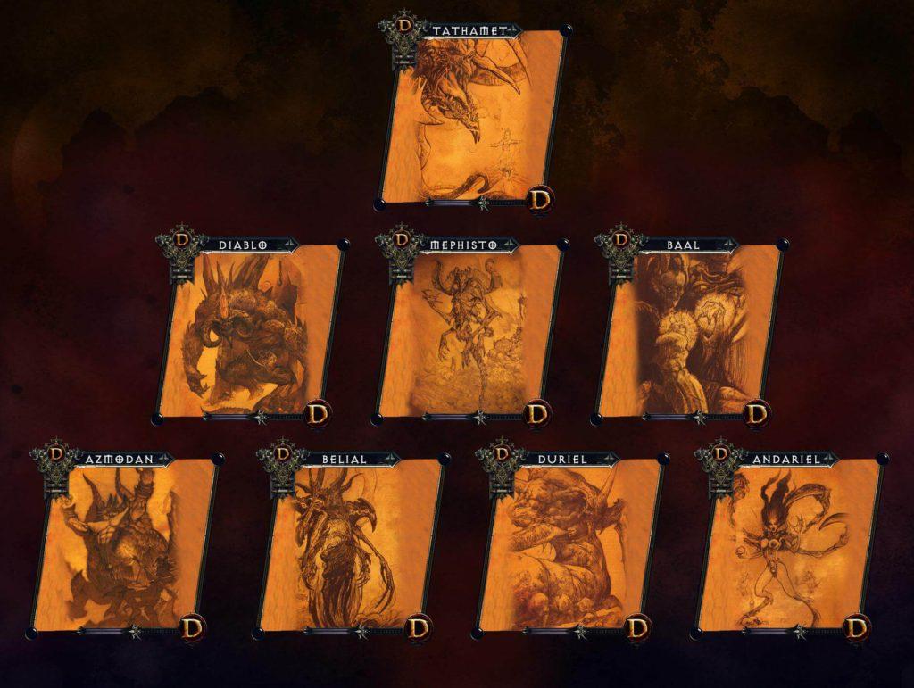 The Great Evils Diablo Tathamet
