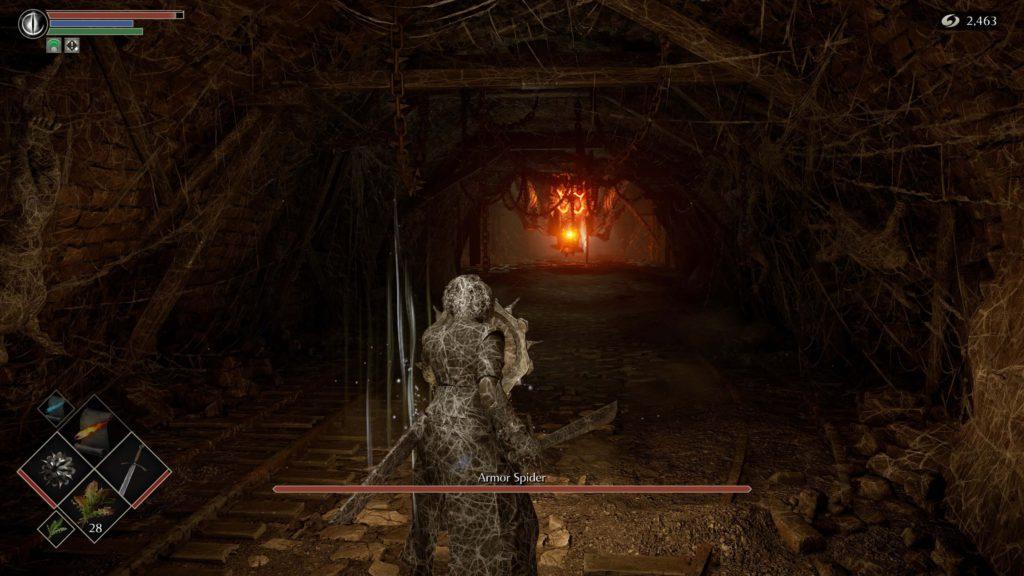 Aranha de Armadura Demon's Souls Game 001