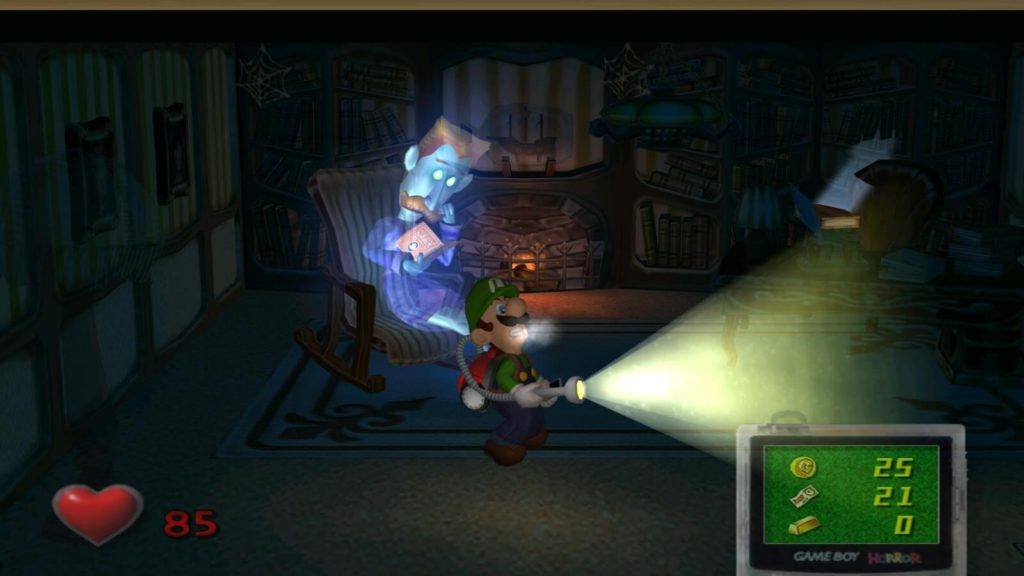 Luigi's Mansion Nintendo Game Cube 002