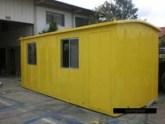 Container amarelo perfil