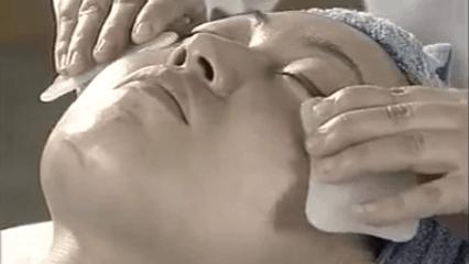 how to facial gua sha eyes