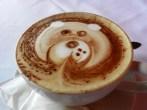 coffee art in Coban