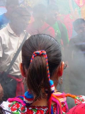 colours and smoke