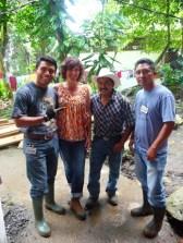 Guatemalan construction crew