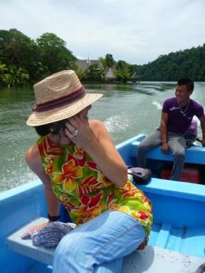 boatride with Leonel