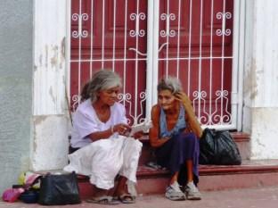 two ladies in Granada