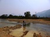 river biking in Vang Vieng