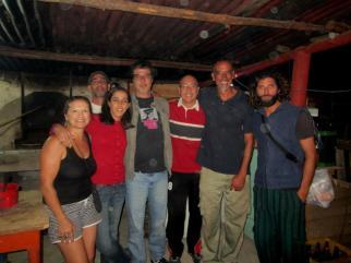 Alejandro Balbis en el Guazu Club