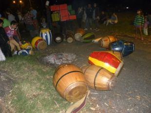 Carnaval Guazuvirá 2014 – La Previa - Los tambores