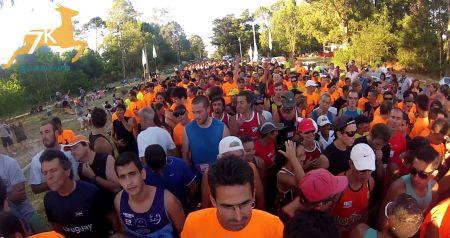 Largada 7K Guazuvirá