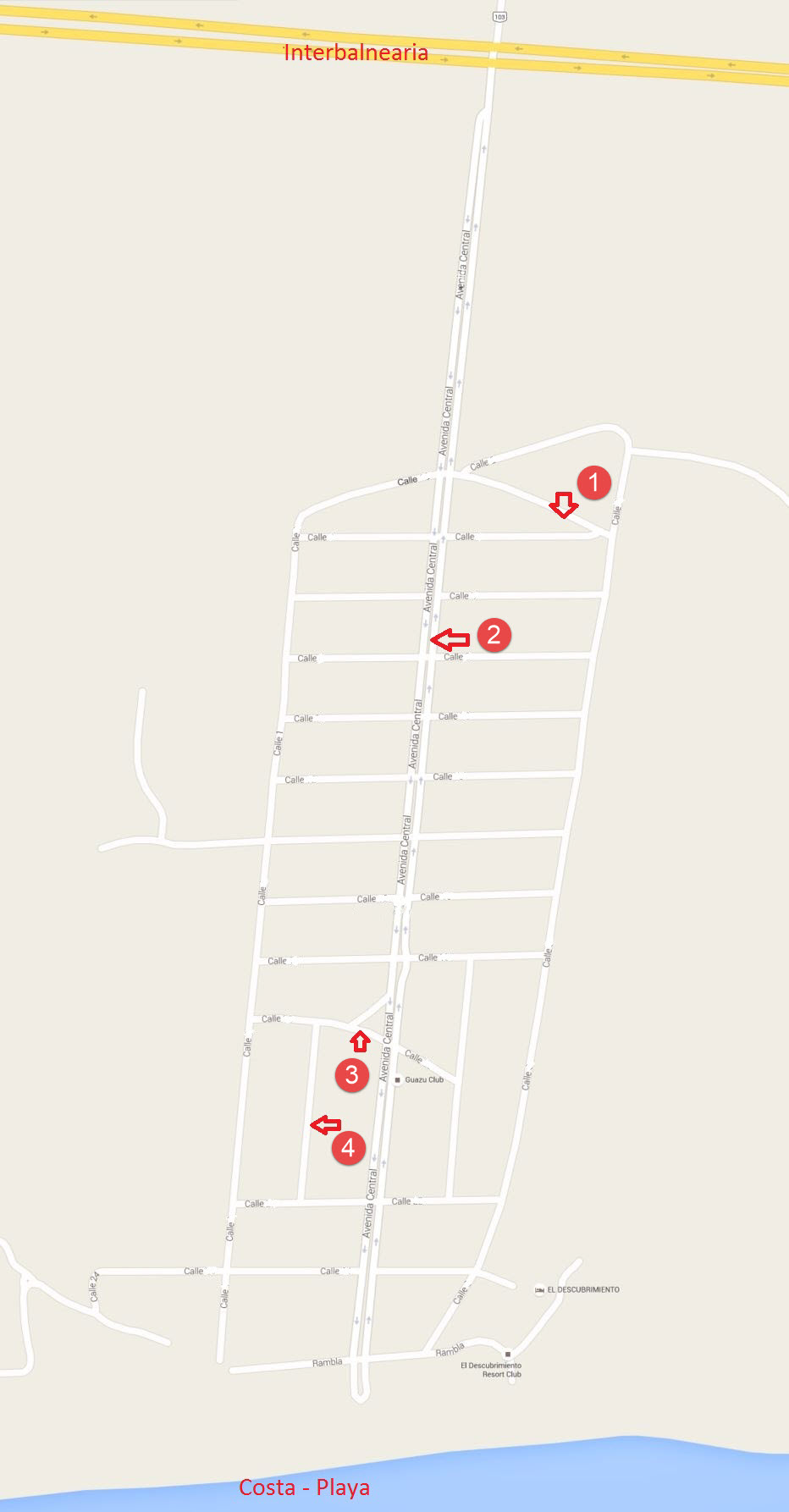 Mapa Ramas