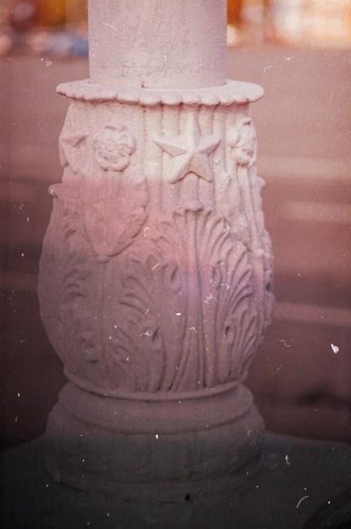 петрозаводск, ссср, фонарь, площадь кирова, серп и молот