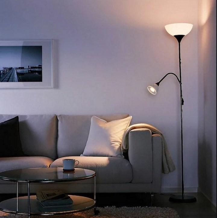 лампа, Икея, интерьер