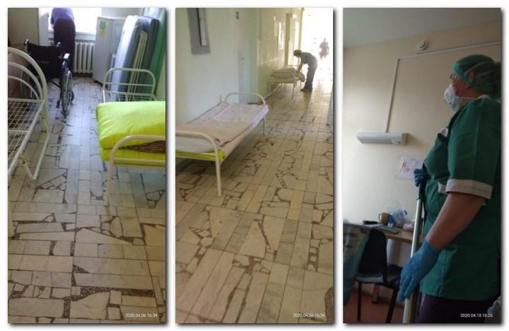 коридор, палаты, больница