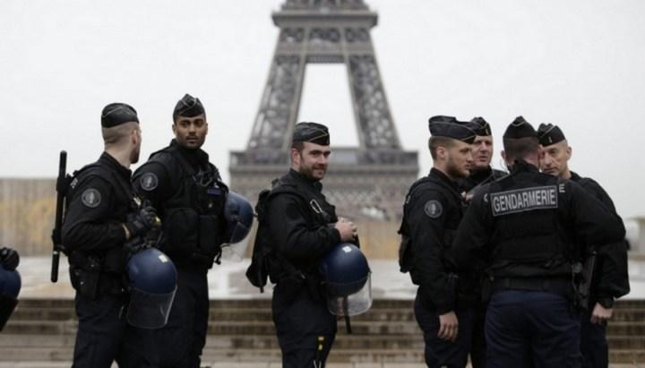 Франция, карантин