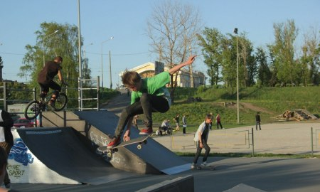 скейт-парк Петрозаводск