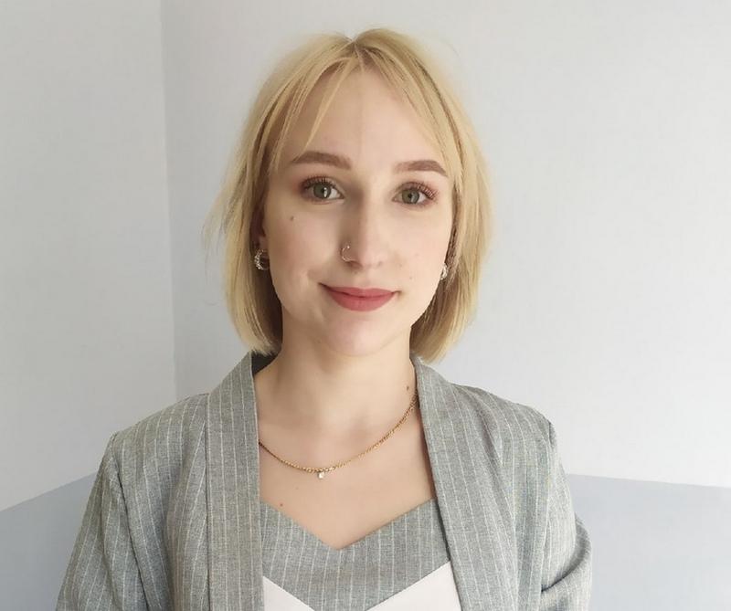 студентка медколледжа Ульяна Киселева